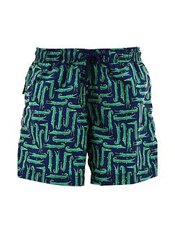 Boys UPF 50+ Crocodile Swim Short