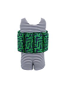 Sunuva Boys UPF 50+ Crocodile Floatsuit