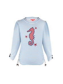 Sunuva Girls UPF 50+ Starfish Rash Vest