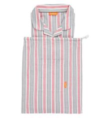 Sunuva Boys Red and Grey Stripe Pyjama Set