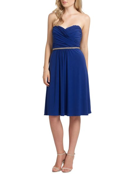 Ariella Blue mazie jersey short dress