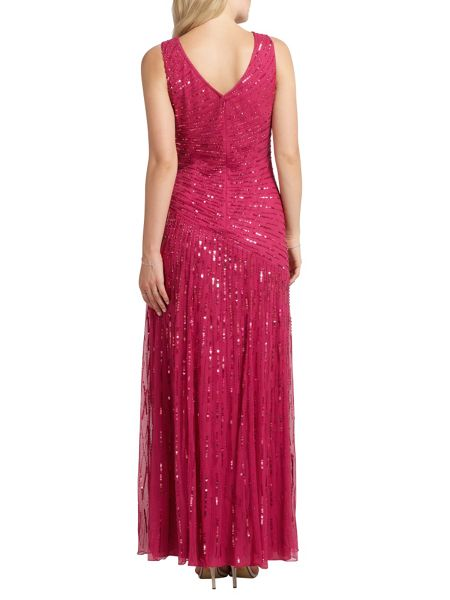 Ariella Juliet sequin long dress