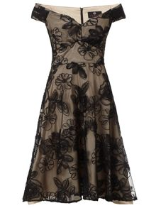 Black champagne nova prom short dress