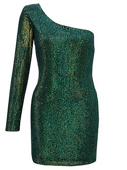 Emerald amanda sequin short dress