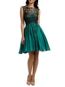 Ariella Peacock katrina prom dress