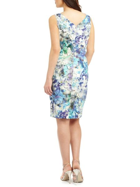 Ariella Blue sally printed pencil dress