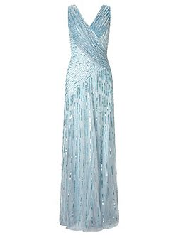 Juliet sequin long dress