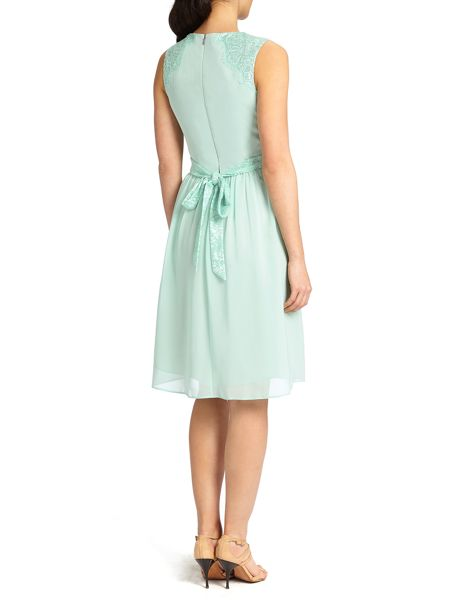 Ariella Alia chiffon short dress