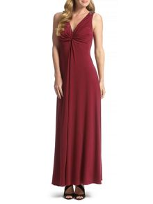 Ursula Twist Front Maxi Dress