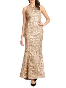 anastasia lace evening gown