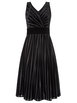 Pixie Velvet Stripe Prom Dress