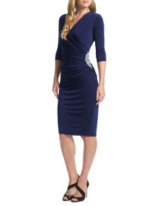 Ariella Rhoda Short Wrap Dress
