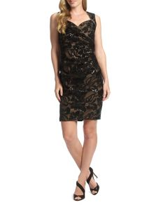 Ariella Elsa Lace Shift Dress