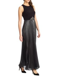 Carrie metallic skirt dress