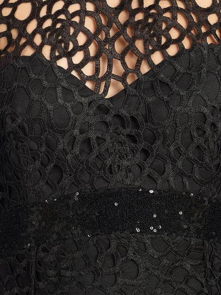 Ariella dakota longsleeve lace evening gown