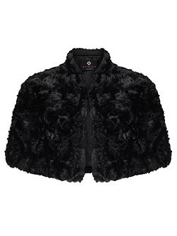 Fifi Faux Fur Crop Bolero