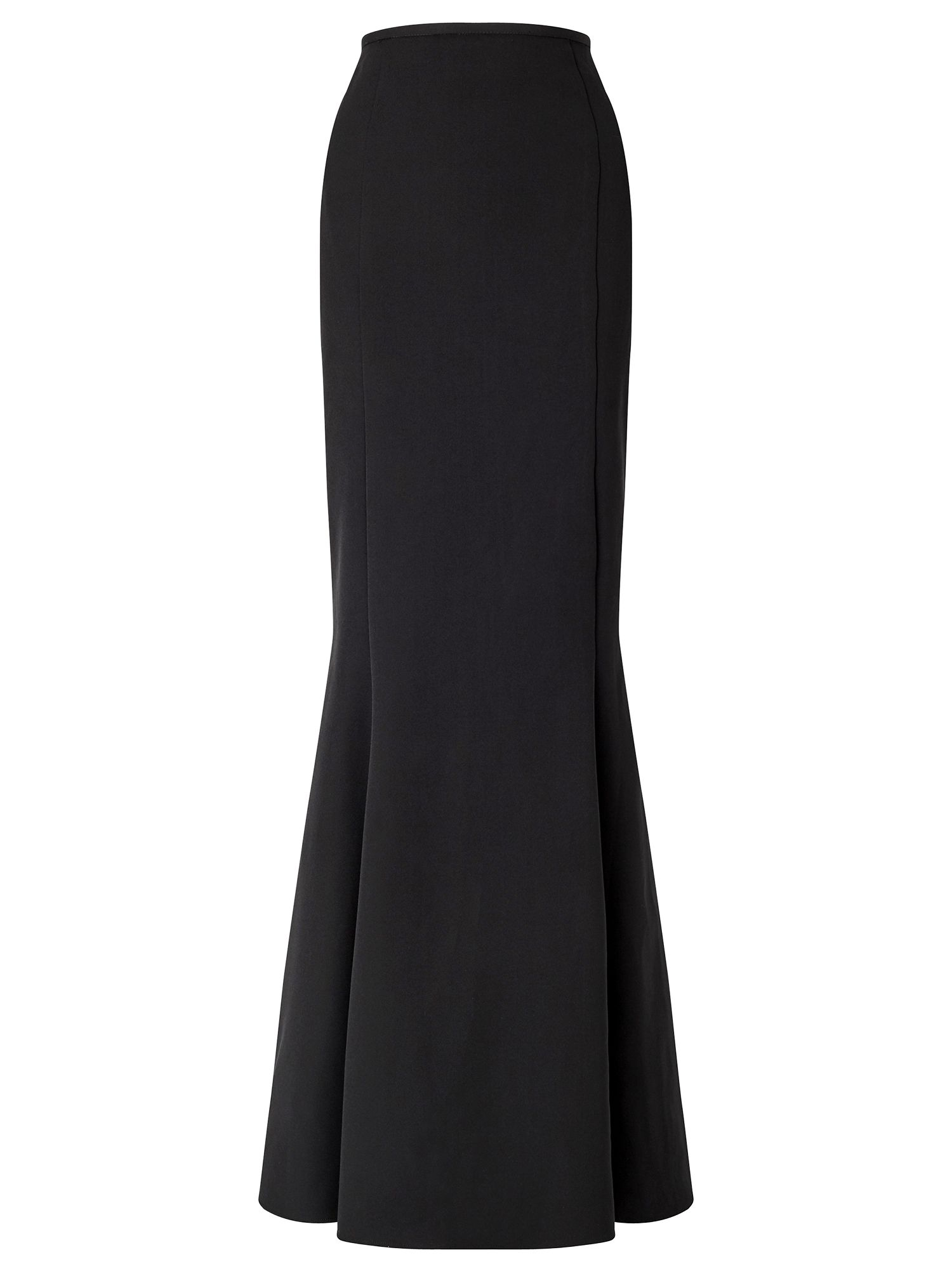 Ariella Nassia Long Peplum Skirt, Black
