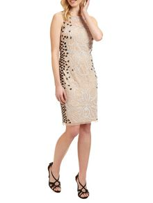 Ariella Dionne short beaded dress