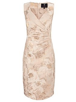Dara midi jacquard dress
