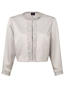 Ariella Carine lace trim jacket