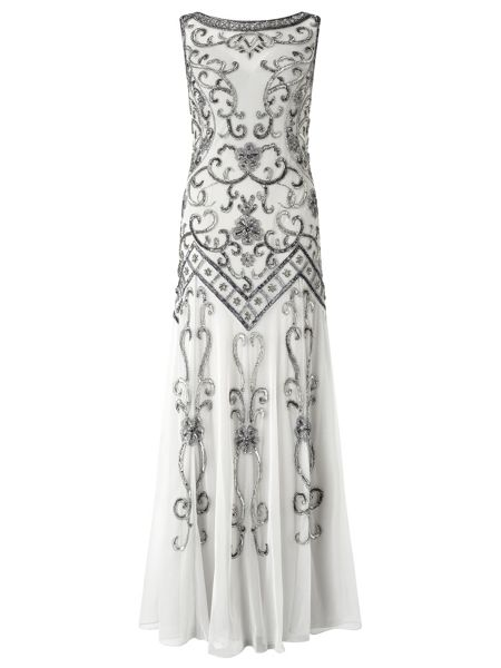Ariella Laila Embellished Dress