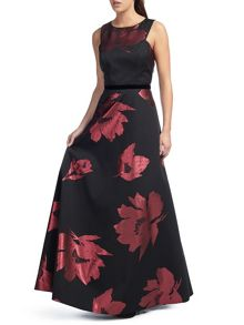 Ariella Maddox Floral Print Dress