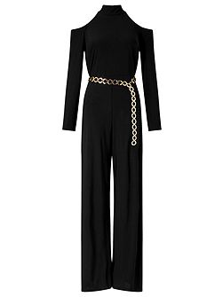 Paloma Open Shoulder Jumpsuit