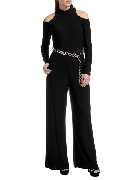Ariella Paloma Open Shoulder Jumpsuit