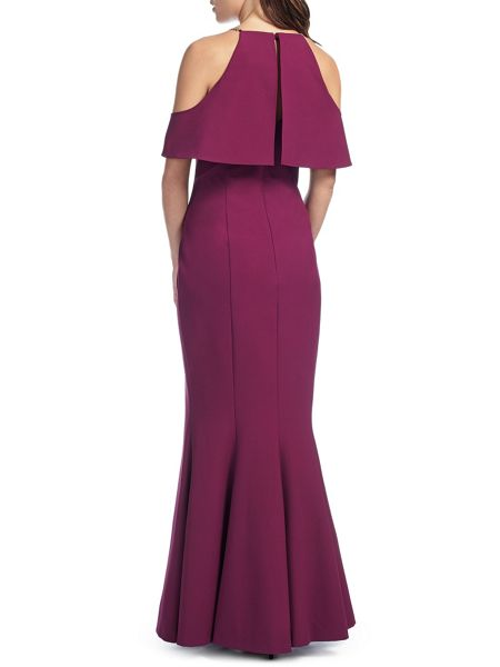 Ariella Rita Drop Shoulder Peplum Dress