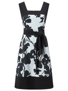 Ariella Logan Printed Prom Dress