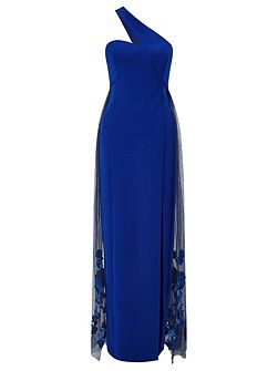Couture Lexi One Shoulder Maxi Dress