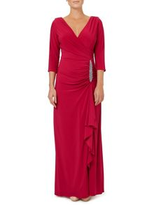 Ariella Gomez Jersey Maxi Dress