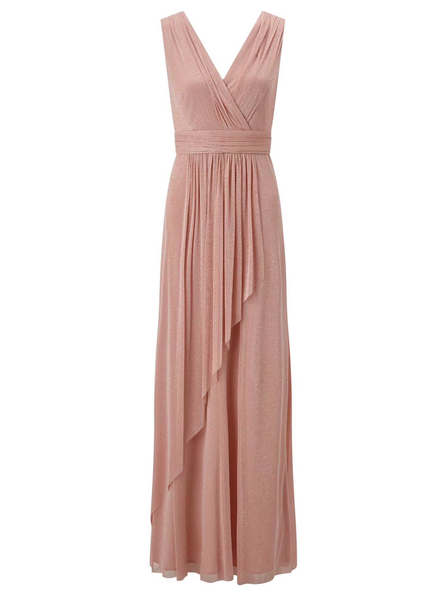Ariella Ariella Tulip Bridesmaid Maxi Dress, Pink