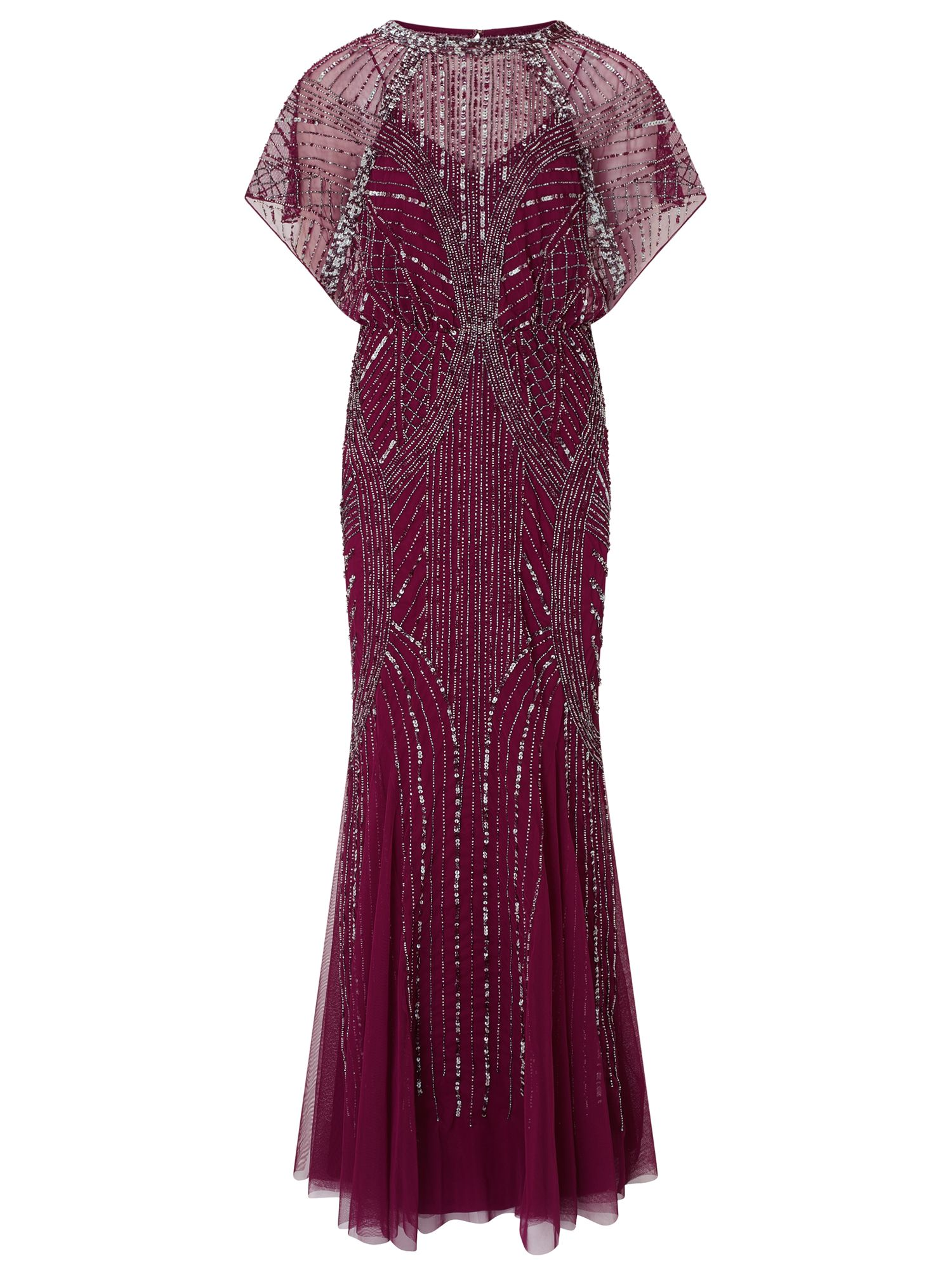 Ariella Couture Steffy Maxi Dress, Purple