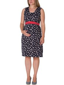 Frugi Summer tie maternity dress