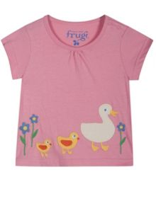 Frugi Baby Girls Little Summer Pjs