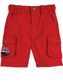 Frugi Organic Baby Boys Little Explorer Shorts