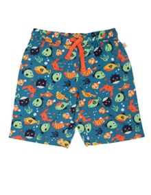 Frugi Baby Boys Little Beach Shorts