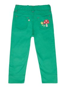 Frugi Organic Girls Capri Pants