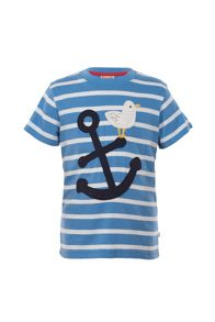 Boys Beach Applique T-Shirt