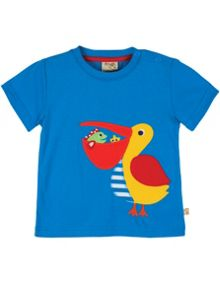 Baby Boys Little Beach Applique T-Shirt