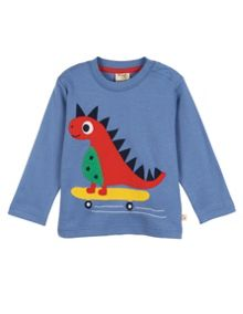 Baby Boys Little Discovery Applique Top