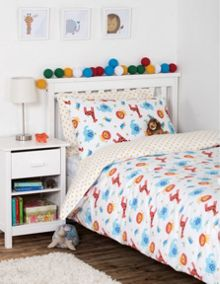 Frugi Uk Single Bed Set - Safari
