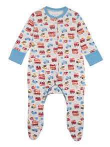 Frugi Baby boys lovely babygrow