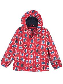 Baby boys puddle buster coat