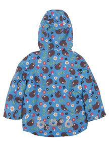 Baby girls little adventure print coat