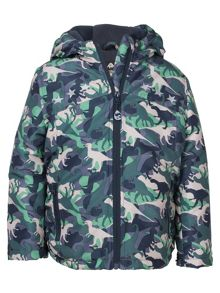 Frugi Boys adventure print coat