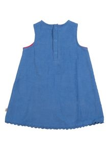 Frugi Baby girls lily cord dress