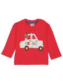 Frugi Baby boys little discovery applique top