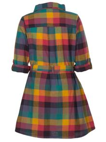 Girls imogen shirt dress